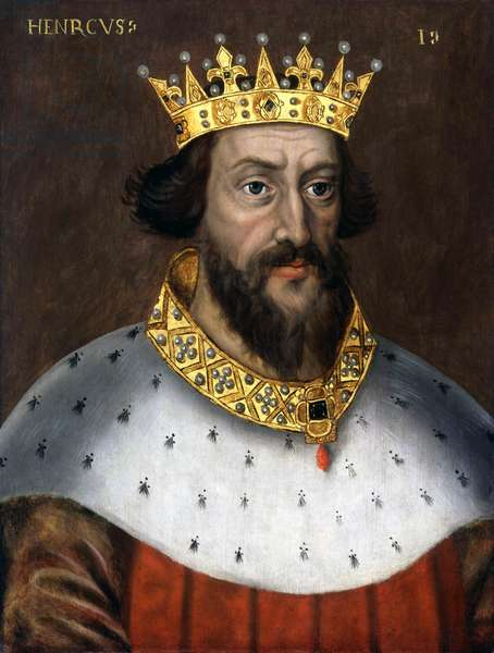 England: Henry I, King of England (r. 1100 - 1135). Oil on panel, anonymous, c. 1600