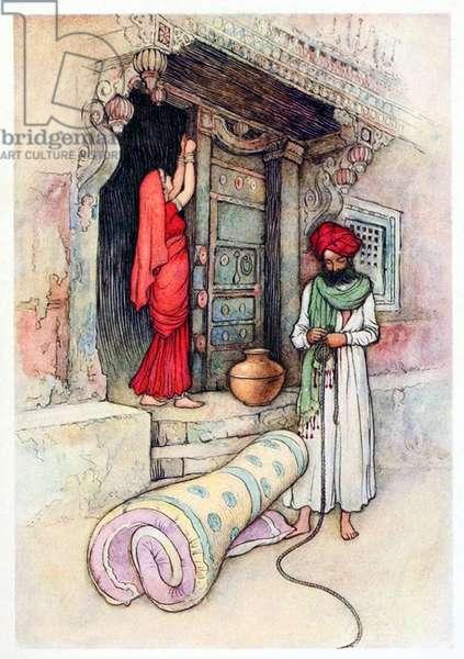 UK: 'Folk Tales of Bengal', Warwick Goble (1862-1943), 1912