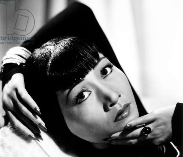 China / USA: Anna May Wong, Chinese-American movie star, c. 1938