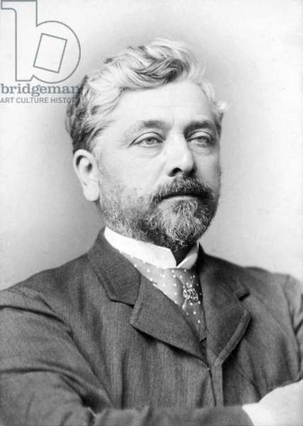 France: Alexandre Gustave Eiffel (1832-1923), French civil engineer and architect, c. 1885