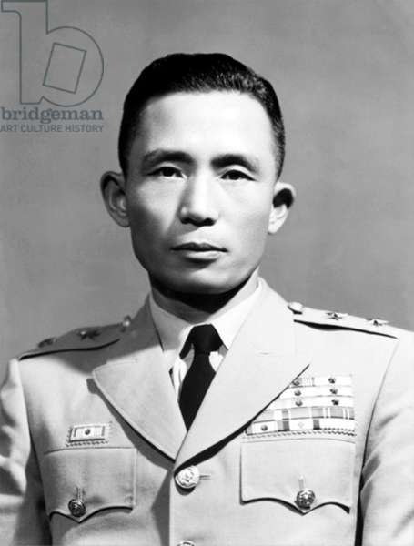 Korea: Lieutenant-General Park Chung Hee, President of the Republic of Korea (South Korea), c. 1961