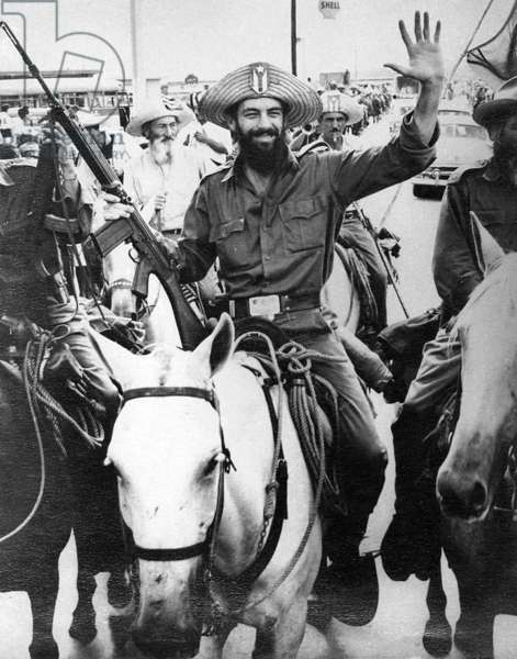 Cuba: Camilo Cienfuegos after his victory at Yaguajay, c. January 1959