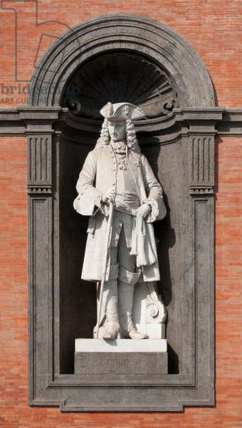Italy: Charles III (Carlo III; 1716 - 1788), King of Spain and the Spanish Indies and King of Naples and Sicily, Palazzo Reale di Napoli, Piazza del Plebiscito, Naples (photo)