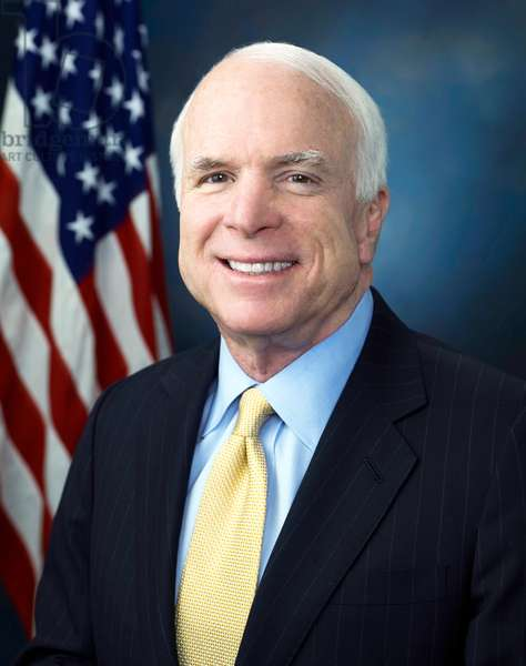 USA: John McCain (1936 - ), Republican senator for Arizona (1987 -),  official portrait, 23 January 2009