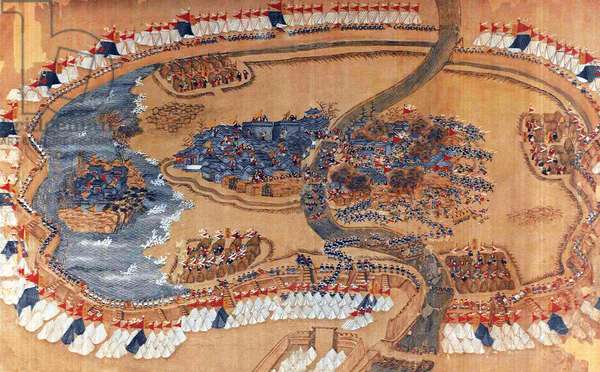 China: The Siege of Lianzhen (3). (Taiping Rebellion, 1850-1864)