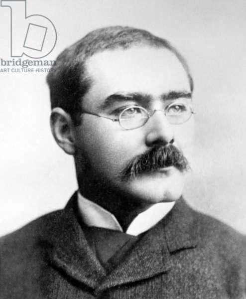 England / UK: Rudyard Kipling (1865-1936) in the United States, c. 1899