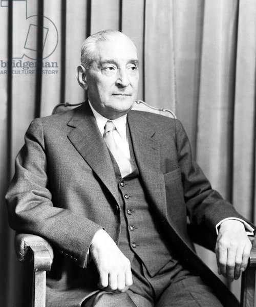 Portugal: Antonio de Oliveira Salazar (1889-1970), Prime Minister of Portugal 1932-1968, c. 1950