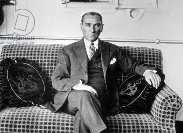 Turkey: Mustafa Kemal Ataturk (1881-1938), c. 1928