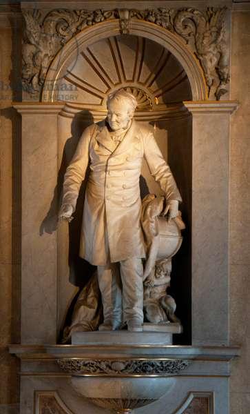 Austria: Alexander von Humboldt (1769 - 1859), Prussian naturalist and explorer, Natural History Museum (Naturhistorisches Museum), Vienna. Sculptor, Rudolf Wyr (1847 - 1915)