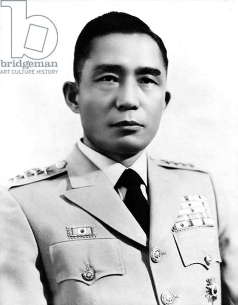 Korea: Lieutenant-General Park Chung Hee, President of the Republic of Korea (South Korea), c. 1966