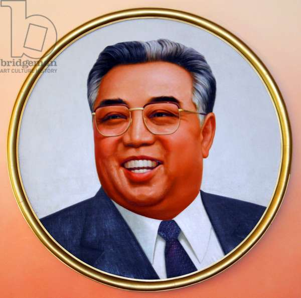 Korea: North Korea's 'Great Leader' Kim Il Sung (1912-1994), supreme ruler of the Democratic Republic of Korea (DPRK) between 1948 and 1994