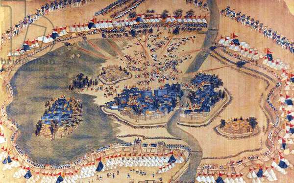 China: The Siege of Lianzhen (4). (Taiping Rebellion, 1850-1864)