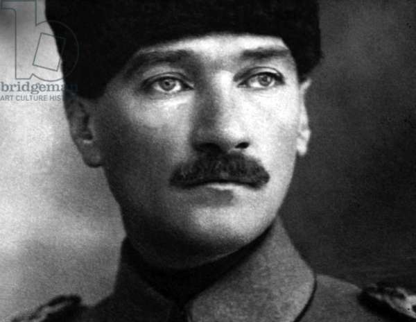 Turkey: Mustafa Kemal Ataturk (1881-1938), c. 1916