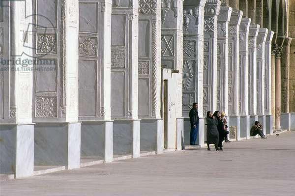 Syria: Central courtyard, Umayyad Mosque, Damascus