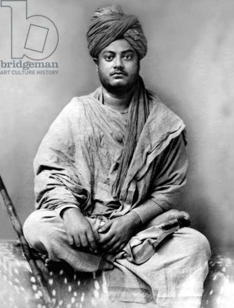India: Swami Vivekananda, Jaipur, c.1895