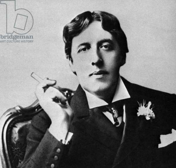 Ireland: Oscar Wilde (1854 - 1900), Irish writer and poet, c. 1884