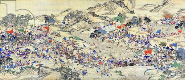 China: Qing forces regain the provincial city of Ruizhou (Taiping Rebellion, 1850-1864)