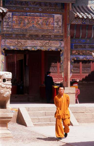 China: Guandi Temple, Jiayuguan Fort, Jiayuguan, Gansu