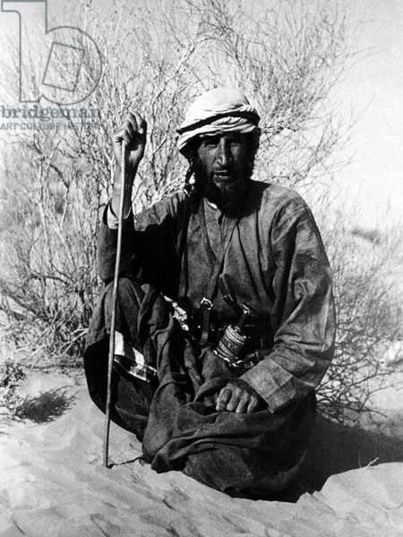 Saudi Arabia / UK: The explorer and Arabist Wilfred Thesiger in Oman, c. 1946