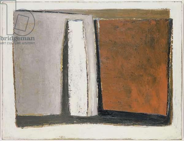 Porth, 1956 (oil on wood)