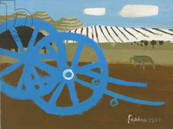 The Cart, 1977 (oil on canvas)