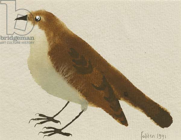 Little Bird, 1991 (gouache on paper)