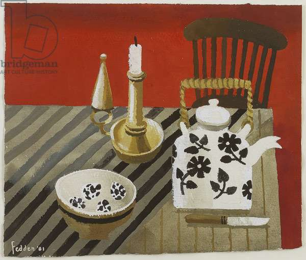 The Red Room, 2001 (gouache on paper)