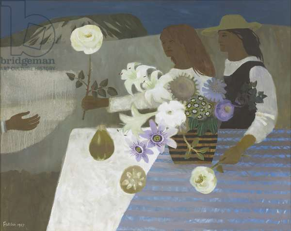 The Offering, 1997 (oil on canvas)
