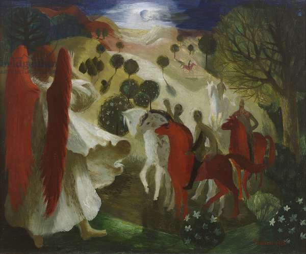 Zachariah's Dream, 1951 (oil on canvas)