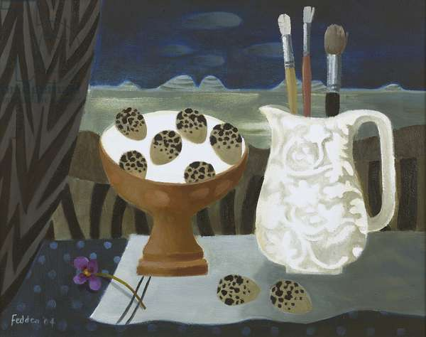 Three Paint Brushes, 2004 (oil on canvas)