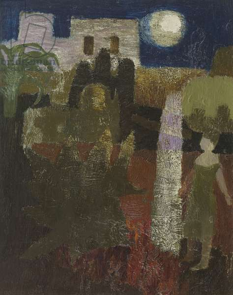 Stella by Moonlight, 1964 (oil on canvas)