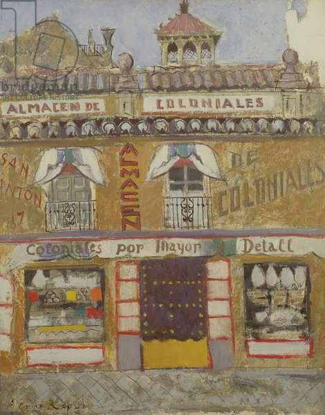 A Shop Front, Granada