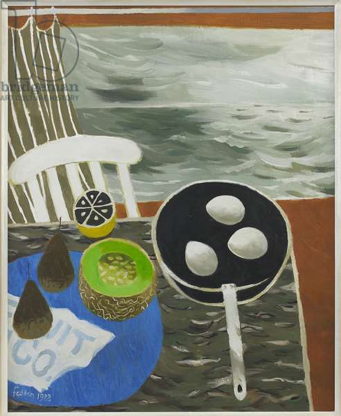 The Frying Pan, 1988 (oil on canvas)