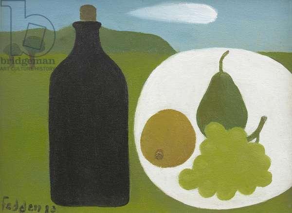 Black Bottle, 2010 (oil on canvas)