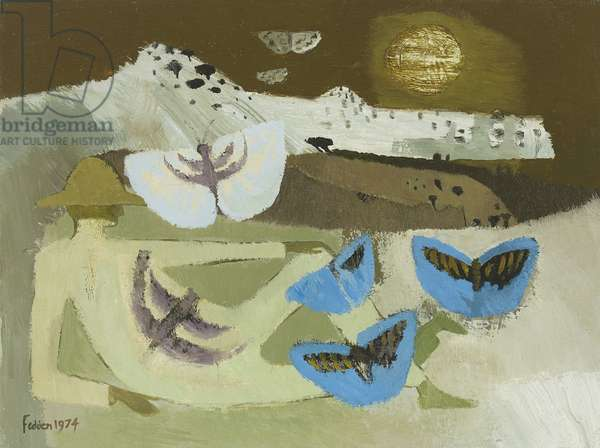 Butterfly Man, 1974 (oil on canvas)