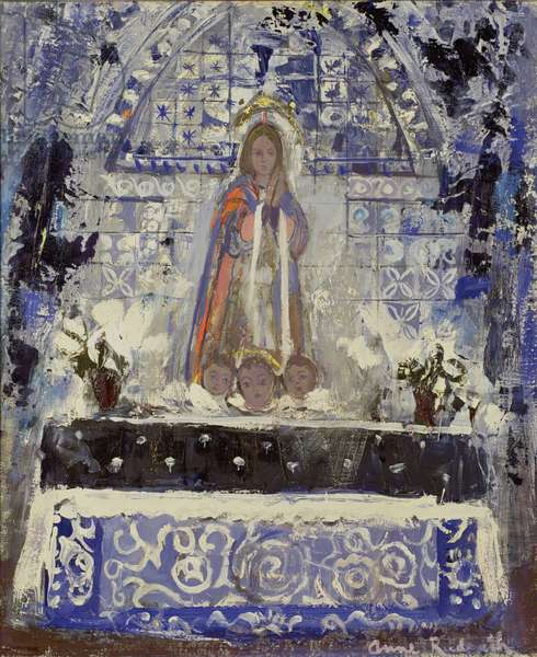 Altar to the Virgin, 1957 (oil on canvas)