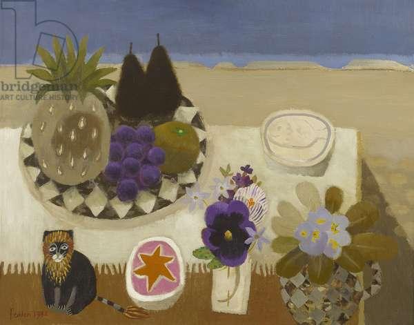The Flowering Desert, 1982 (oil on canvas)