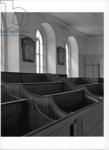 German Lutheran Church, Whitechapel, 1996 (b/w photo)