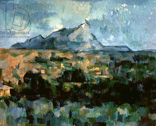 Montagne Sainte-Victoire, 1904-06 (oil on canvas)