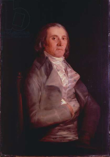 Don Andres del Peral, 1797-8 (oil on panel)