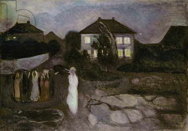 The Storm, 1893 (oil on canvas)