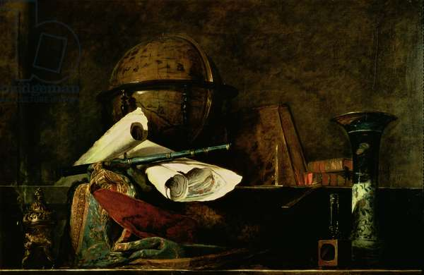 Allegory of Science (oil on canvas)