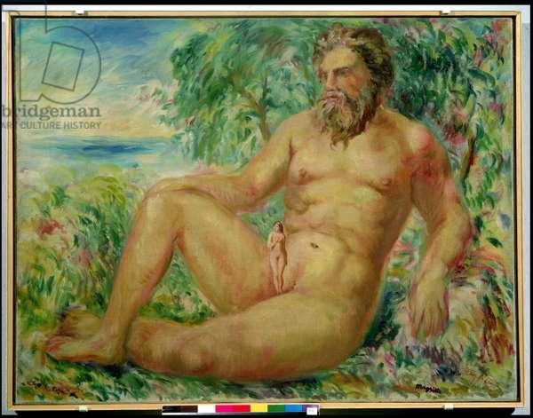 The Ocean, 1943 (oil on canvas)