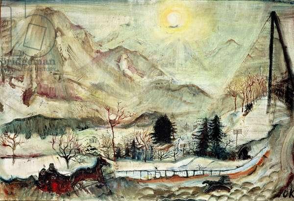 Les Dents du Midi, 1910 (oil on canvas)