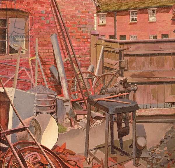 The Blacksmith's Yard, Cookham, 1932