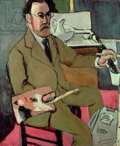 Self Portrait, 1918 (oil on canvas)