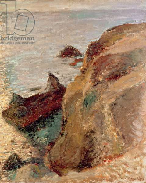Rocks and the Sea, 1897