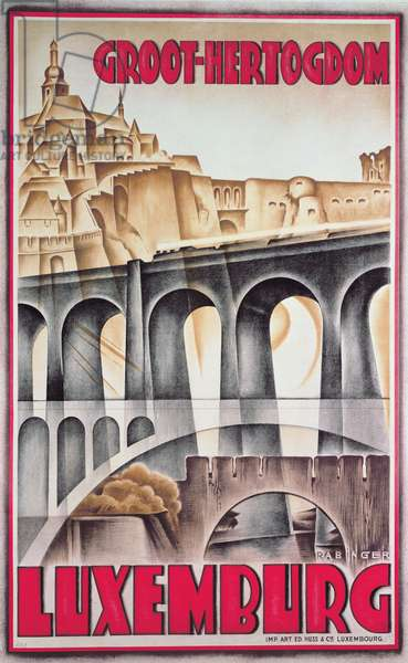 Luxembourg, 1930 (colour litho)