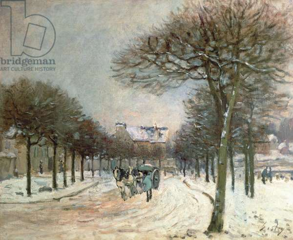 The Road to Saint-Germain at Marly, 1874-5