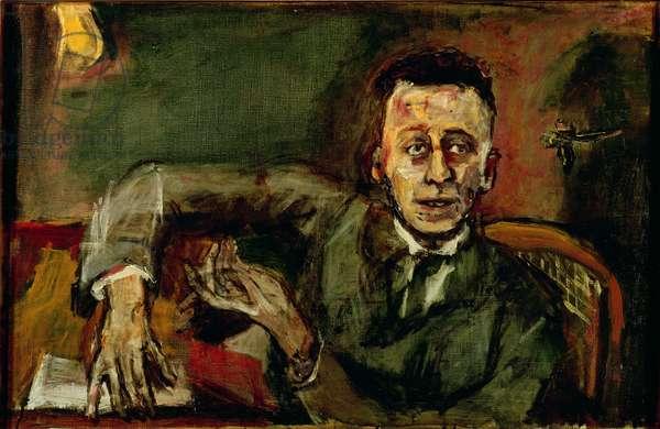 Karl Kraus II (1874-1936) 1925 (oil on canvas)